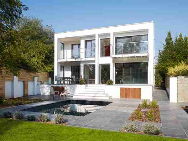 Modern Eco Home Build Within Conservation Area Eco Homes